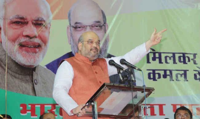 अमित शाह, पासवान ने बिहार चुनाव पर चर्चा की