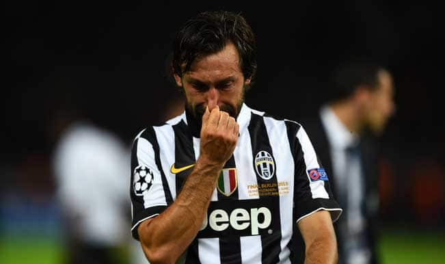 Andrea Pirlo: Showed emotion for Champions League final defeat to Barcelona, not Juventus departure