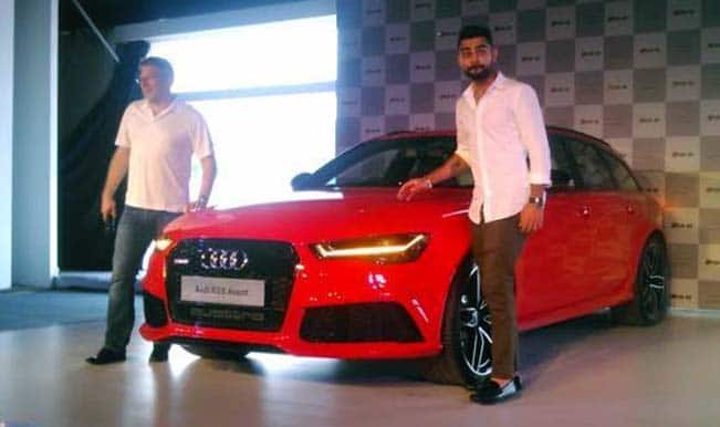Virat Kohli launches Audi RS6 Avant for 1.35 crore in India