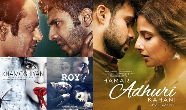 Mid-year review: Roy, Hamari Adhuri Kahani, Badlapur -Top 5 hit music albums of the year