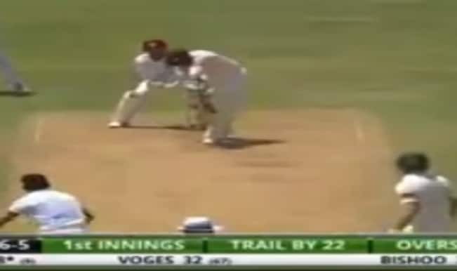 Devendra Bishoo bowls 'Ball of the Century' to Brad Haddin on 22nd anniversary of Shane Warne's magical delivery (Watch Video)