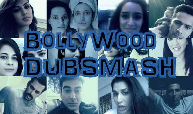 Bollywood Dubsmash: Salman Khan, Ranbir Kapoor, Alia Bhatt, Sonakshi Sinha, Shraddha Kapoor – who is the best?