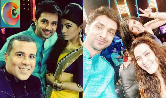 Nach Baliye 7: Ranveer and Ishani promote Ekta Kapoor's new brand EK Sarees!