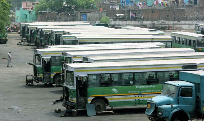 Conductor crushed to death by negligent bus driver at Delhi bus depot