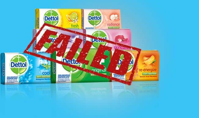 Dettol trusted by medical professionals? Germ-killing soap designed to protect your family's health fails lab test!