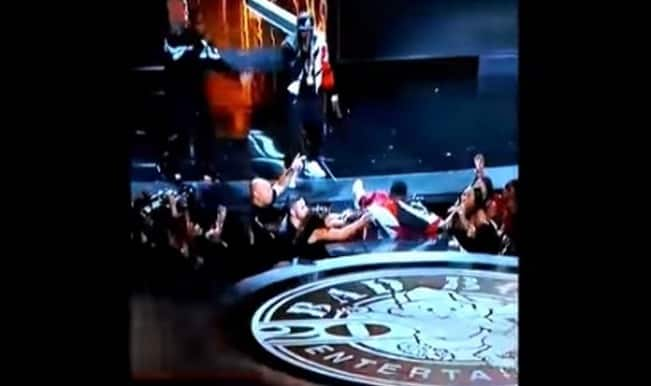 BET Awards 2015: Diddy falls into hole during performance! (Watch video)