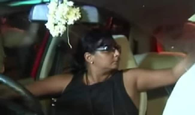 Mumbai woman locks herself in car after being caught for drunk driving!