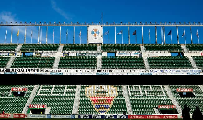 Elche relegated from La Liga due to unpaid debts