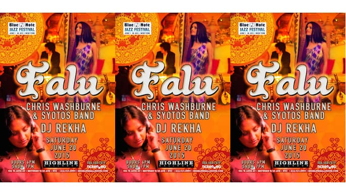 Falu's Bollywood Orchestra Takes New York City This June