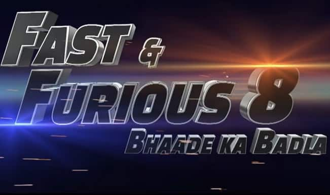 Fast and Furious 8: The trailer will blow your mind