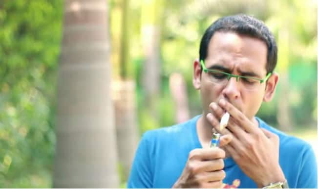 Why Do We Smoke? This video questions the urge to light a cigarette