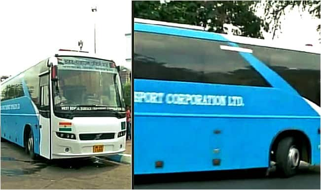 Kolkata-Agartala Bus service via Dhaka begins trial run begins