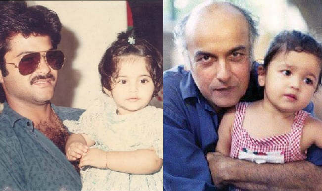 Salman Khan, Shah Rukh Khan, Sonam Kapoor, Alia Bhatt wish their dads on Father's Day