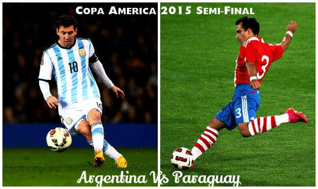 Copa America 2015 Argentina vs Paraguay Preview and Full Sqaud Details: Paraguay aim for 2nd upset; Argentina look to enter 5th final