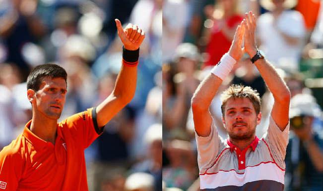 Novak Djokovic vs Stanislas Wawrinka, French Open 2015 Final: Free Live Streaming, Tennis Match Telecast and Score Predictions of Grand Slam Final