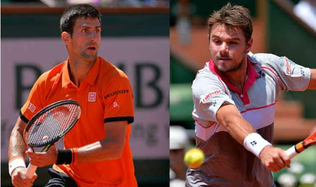 Novak Djokovic vs Stanislas Wawrinka, Live Score Updates of French Open 2015 Final Tennis Match: Wawrinka wins 2nd Grand Slam