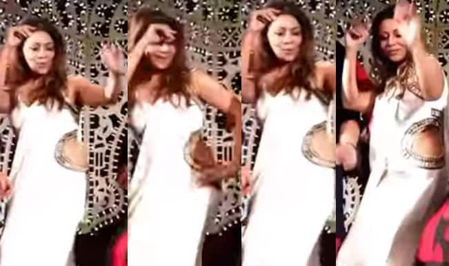 Watch Gauri Khan dance on Chittiyaan Kalaiyaan song minus Shah Rukh Khan at a Venice wedding!