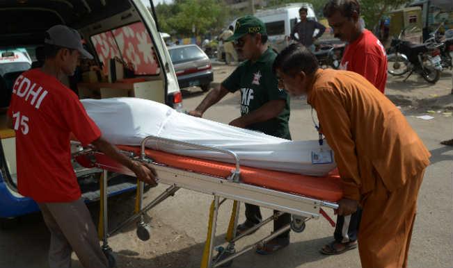 पाकिस्तान में लू से 550 लोगों की मौत