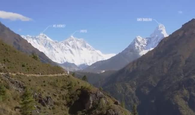 The Himalayas from 20,000 feet: Must watch aerial HD footage of the majestic mountains!