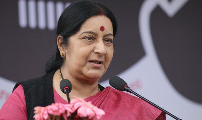 'Capt Saurabh Kalia case to be taken to International Court of Justice (ICJ) if Supreme Court allows', says Sushma Swaraj