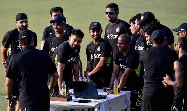 India vs Bangladesh 2015: Team India mean business as players practice on arrival