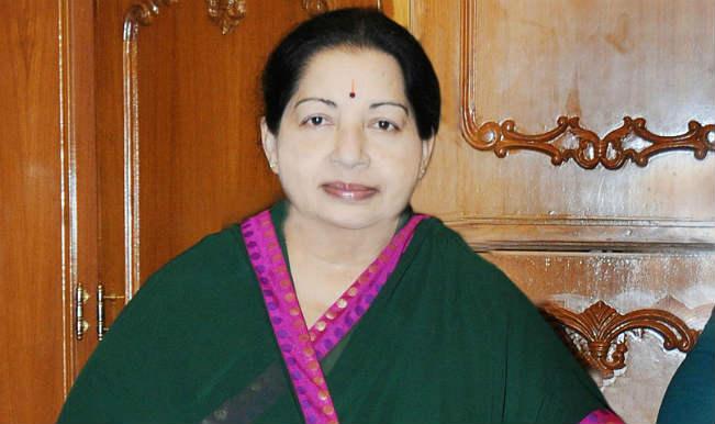 Tamil Nadu Chief Minister J Jayalalithaa inaugurates slew of projects