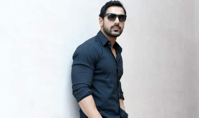 John Abraham gets into work mode