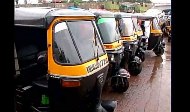 Mumbai Auto Rickshaw strike; Union demands ban on Ola, Meru Plus, Uber
