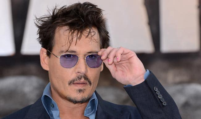 Johnny Depp is Christian Dior's new face