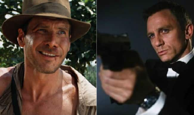 Indiana Jones defeats James Bond in list of greatest movie characters of all time