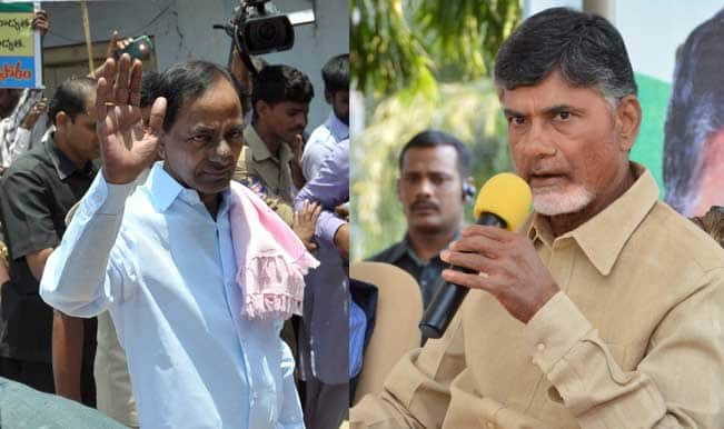 Cash-for-vote Scam: Chandrababu Naidu and K Chandrasekhar Rao indulge in verbal row