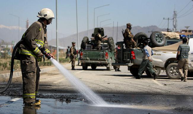 अफगानिस्तान में आत्मघाती हमला, 5 मरे व 51 घायल