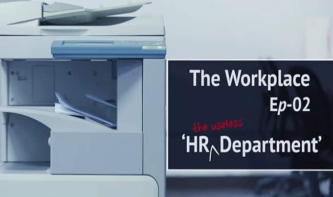 This video shows how HR Department screws an employee's life!