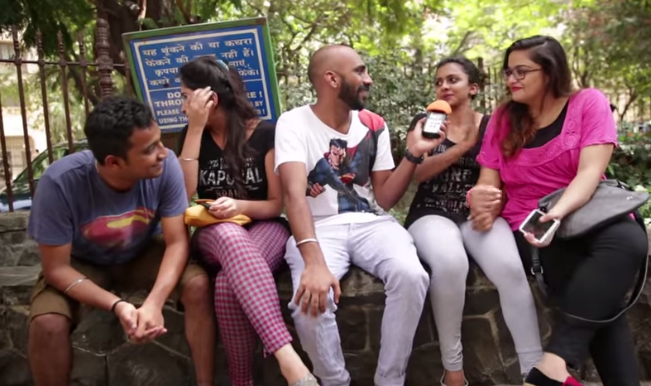 Mumbai youngsters share experience of first kiss (Watch Video)
