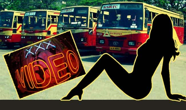 XXX porn movie screened in Wayanad KSRTC bus stand for 30 minutes!