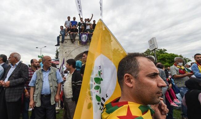 Two Explosions hit Kurdish rally in Turkey; 20 injured