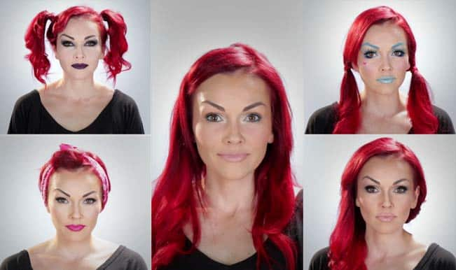 #MakeupMania: Watch the transformation, 1 face and 5 different looks