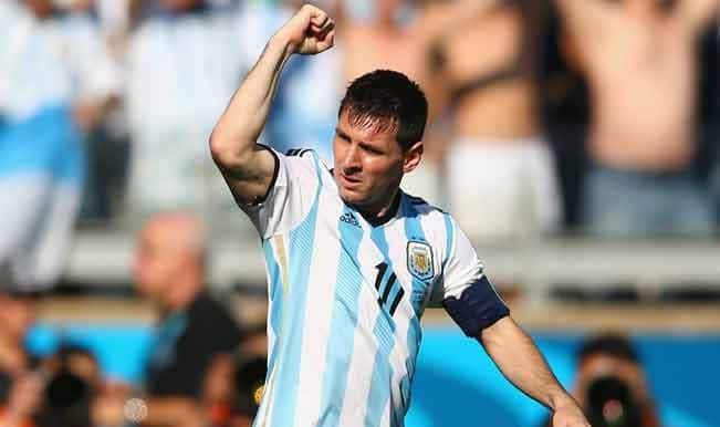 Lionel Messi celebrates 100th International cap with Argentina's 1-0 win against Jamaica in Copa America 2015
