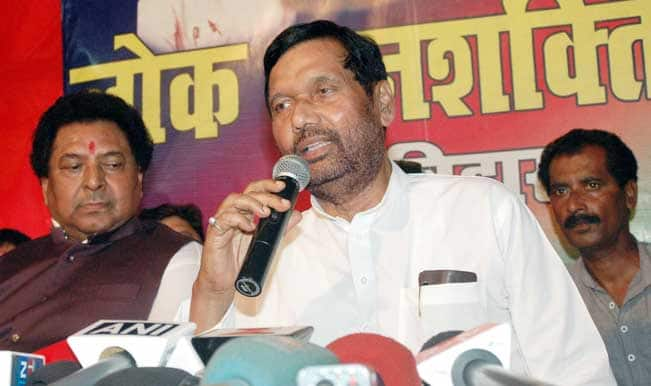 Will restore dignity of places where Ambedkar lived: Ramvilas Paswan