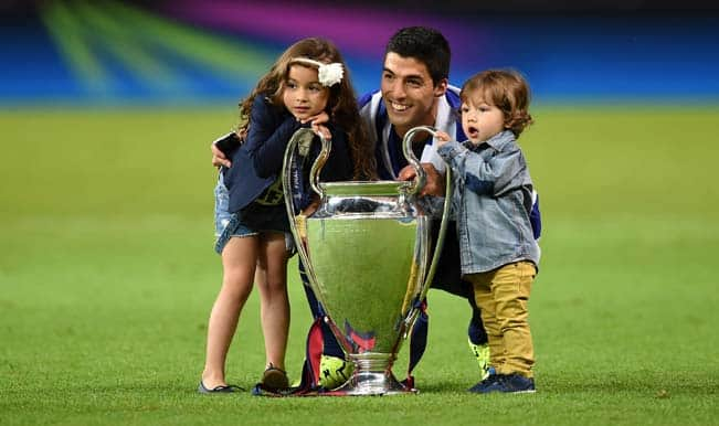 Luis Suarez expresses gratitude to Barcelona for being supportive