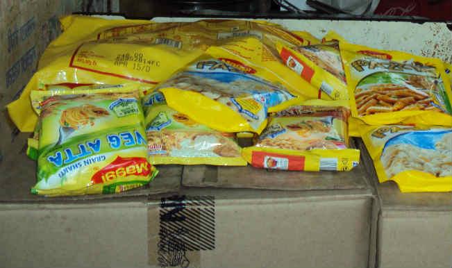 मुंबई के रिटेलरों ने मैगी की बिक्री रोकी