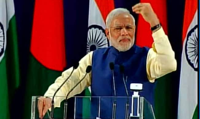 #ModiinBangladesh: Narendra Modi praises Shiekh Hasina's courage to fight terrorism