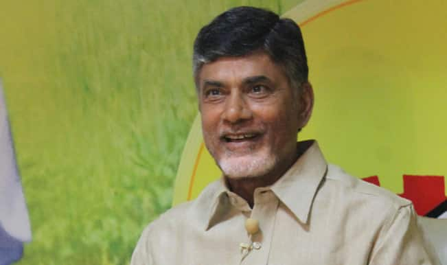 Chandrababu Naidu tapes: Police slap notice on channel, scribes protest