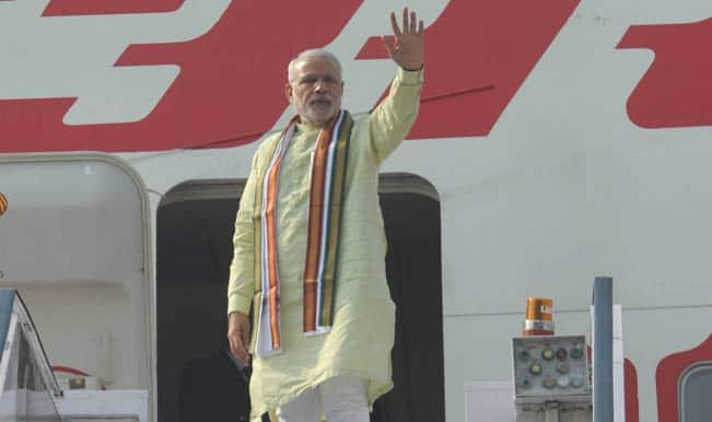 Narendra Modi in Bangladesh: PM Modi arrives in Dhaka, Sheikh Hasina receives him at airport
