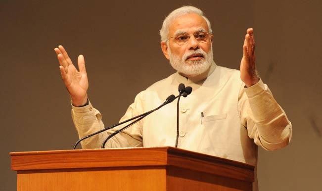 Prachanda meets Narendra Modi