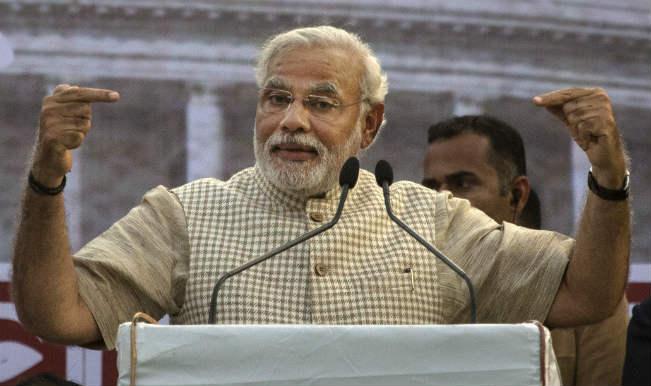 Narendra Modi takes dig at dynastic politics