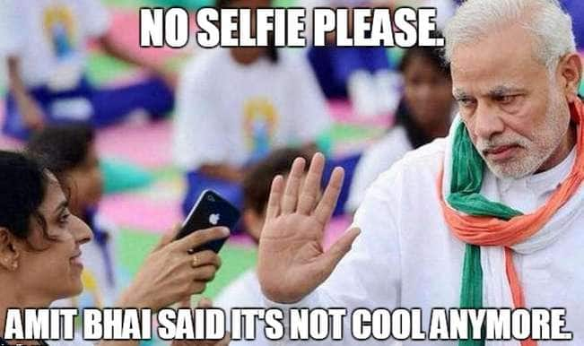 Narendra Modi refuses selfie – check out the best memes!