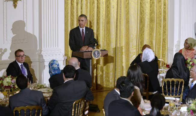 "Barack Obama hosts Iftar party at White House; says ""Whatever our faith, we are all one family"""