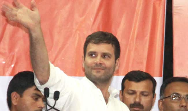 Rahul Gandhi's 10-km foot march in Chhattisgarh's Janjgir Champa
