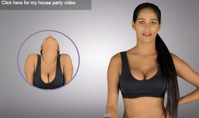 Watch 'hot' Poonam Pandey doing 'yoga'